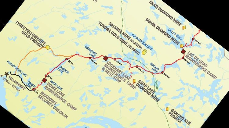 Tibbitt to Contwoyto Winter Road