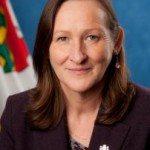 Caroline Cochrane, minister of Municipal and Community Affairs.