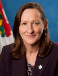 Caroline Cochrane, the minister responsible for MACA.
