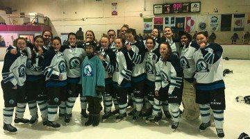 NWT women's hockey team