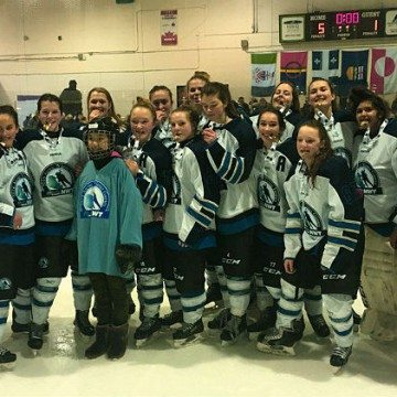 NWT women's hockey team