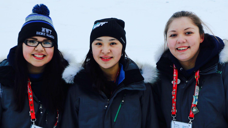Snow snake winners