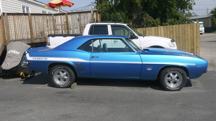 The Camaro Menendez reproduced as seen in 2 Fast 2 Furious.
