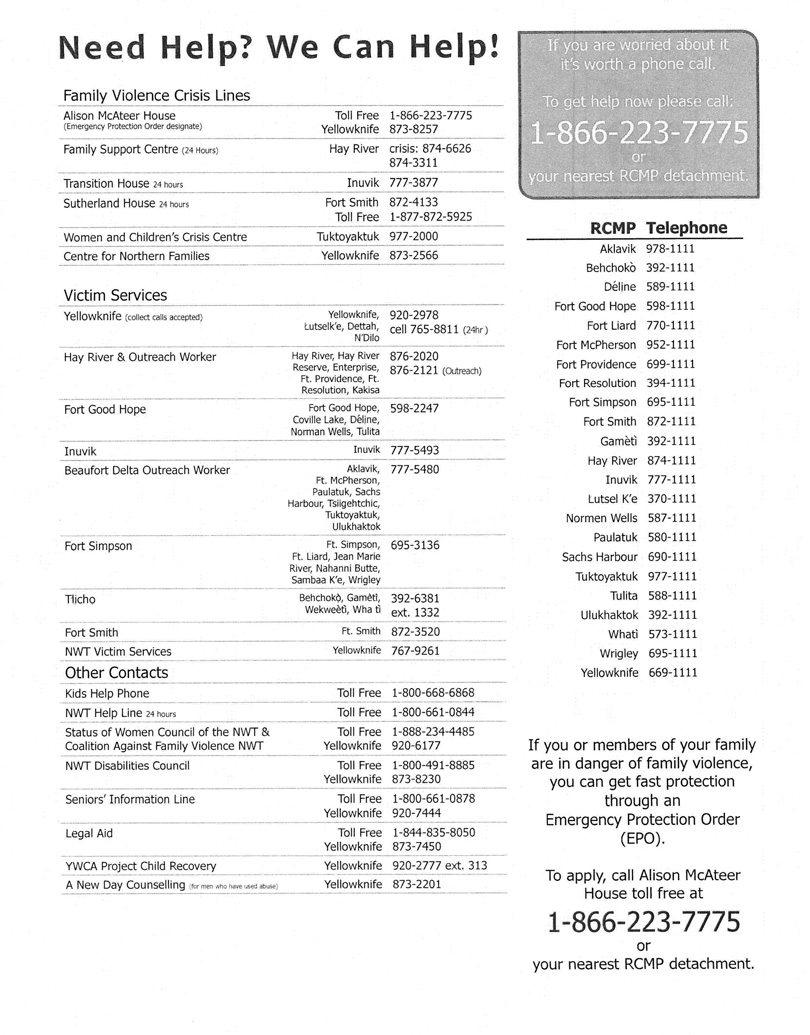 yk-hr-nt-emergency-numbers
