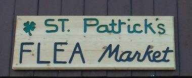 St. Patrick's flea market