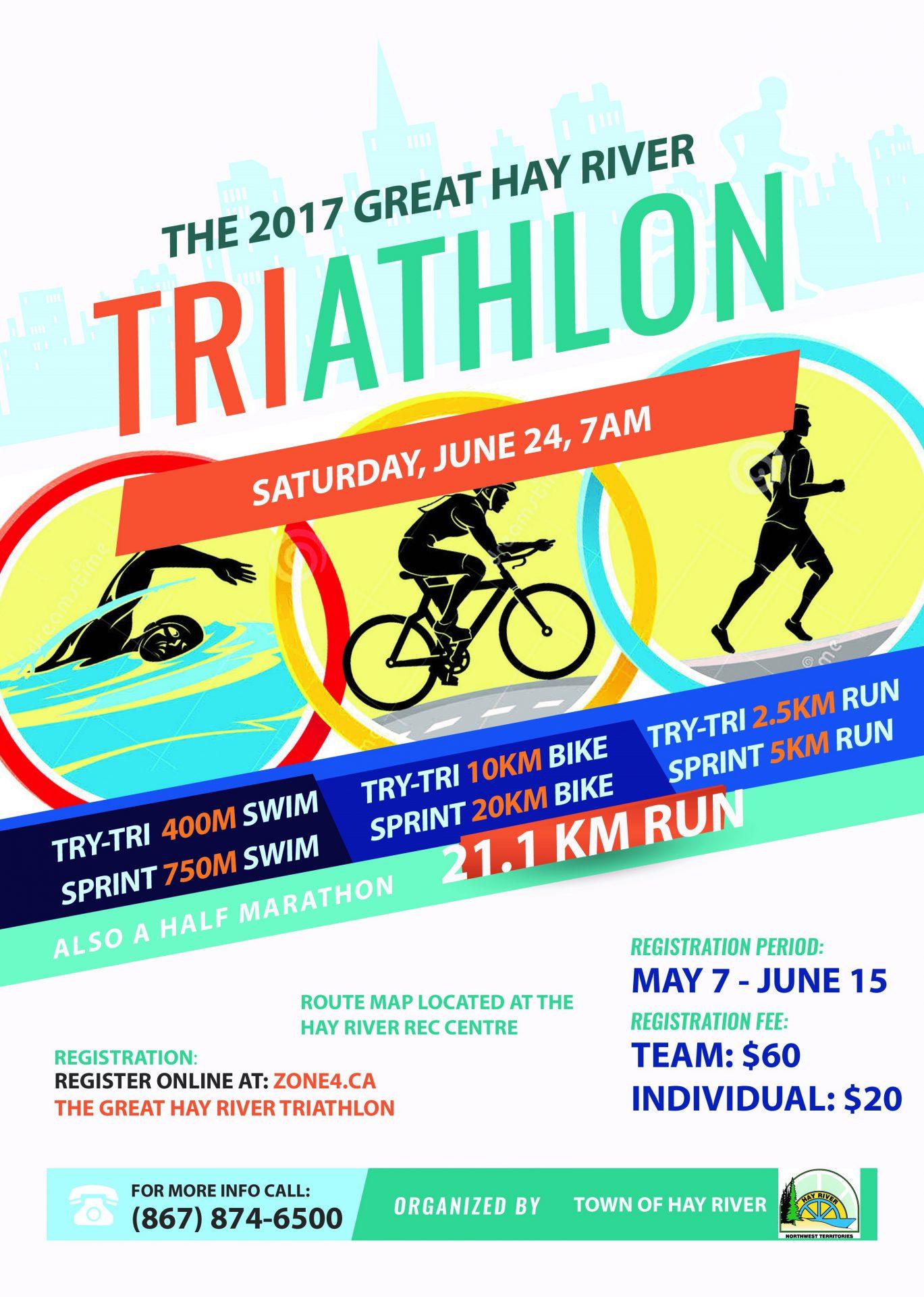 The Great Hay River Triathlon & Half Marathon - My ...